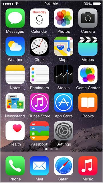 iphone step 1