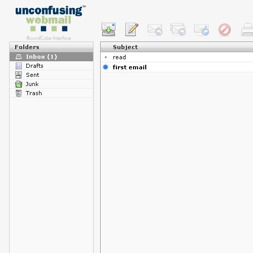 webmail mngt screen